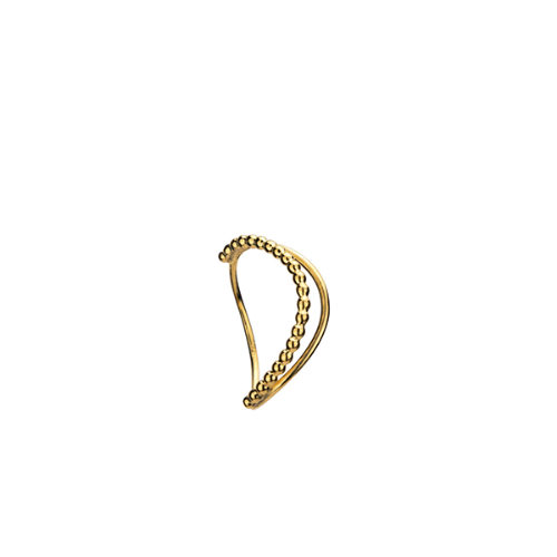 [본보 쥬얼리] PERLE LOOP RING GOLD