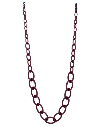 SUNGLASS CHAIN - BURGUNDY RED
