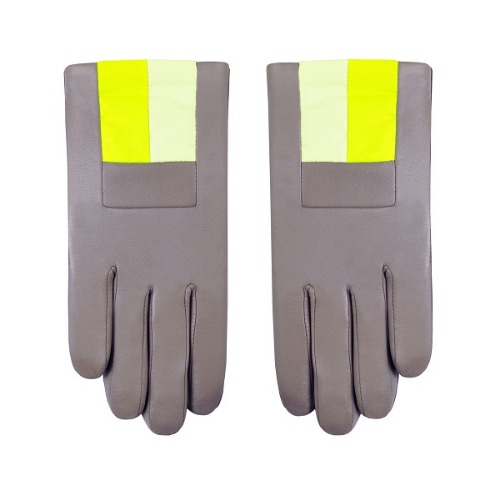CASSIS-YELLOW GLOVES